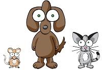 cane-gatto-topo