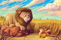 leone-volpe-audio-esopo