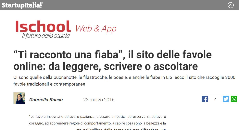 20160323 - startupitalia - 2